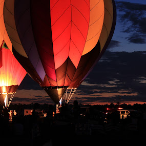 Ballon Rally by Amy Sauer - Transportation Other