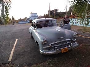 Photo: Taxík cestou z pláže.