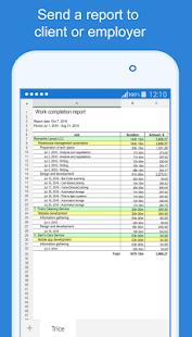 Trice - work time tracker app for freelancer - náhled