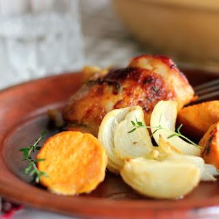 Honey Mustard Chicken and Sweet Potatoes