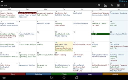 Business Calendar Beta screenshot 11