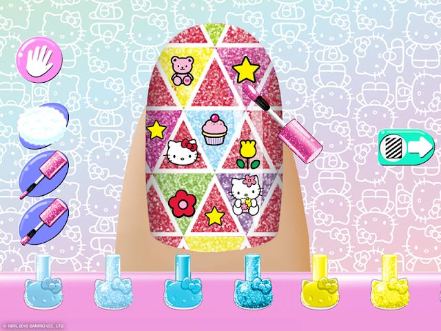 android Salon de manucure Hello Kitty Screenshot 11