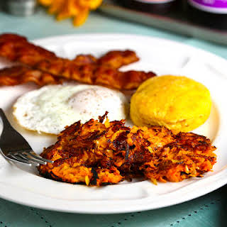 Sweet Potato Hash Browns.