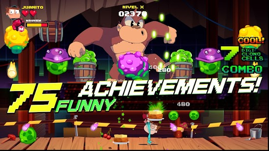 Arcade Mayhem Shooter Screenshot
