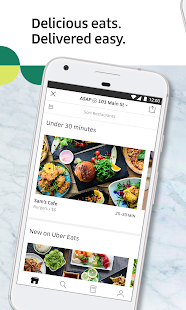 Uber Eats: Food Delivery Screenshot