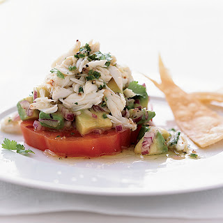 Chile-Lime Crab Salad with Tomato and Avocado Recipe