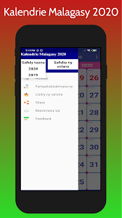 Kalendrie Malagasy 2020 for PC-Windows 7,8,10 and Mac apk screenshot 3