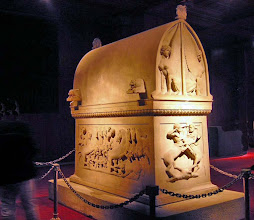 Photo: Lycian sarcophagus ............ Lycische sarcofaag