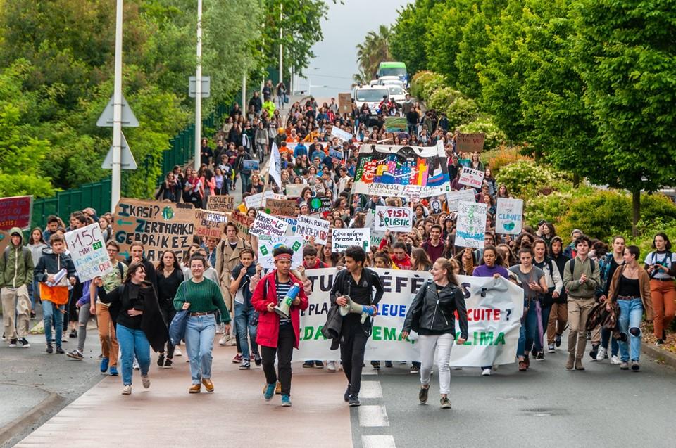 Grève des jeunes - Bayonne