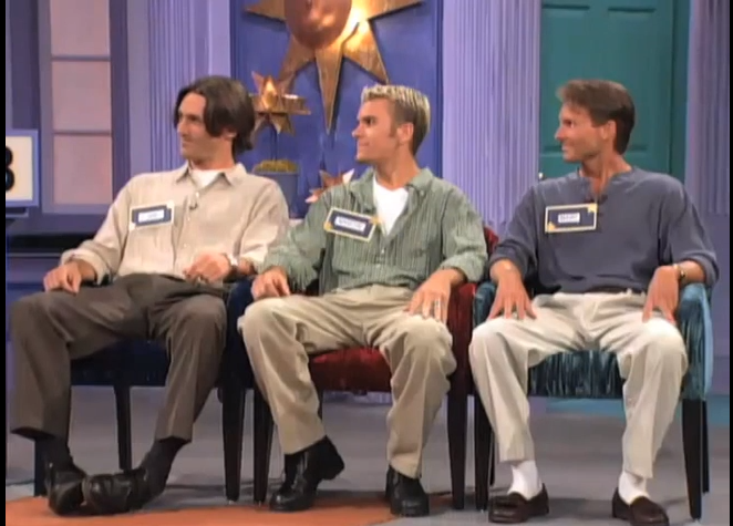 Jon Hamm on a TV dating show.