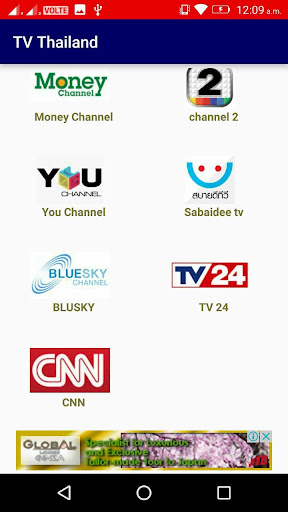 TV Thailand- All Live TV Channels Download Latest Version