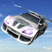 Car Racing Real Flying game