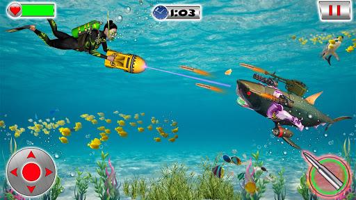 Shark Robot Transformation - Robot Shark Games 1.1 screenshots 9