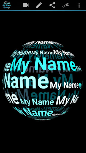 My Name in 3D Live Wallpaper 2.77 Apk for Android 1