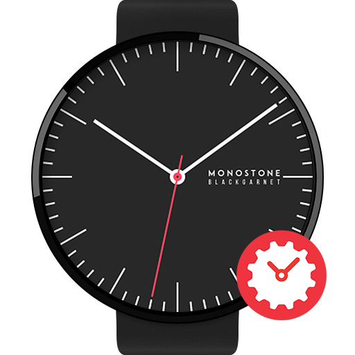 Black Garnet watchface by Mono