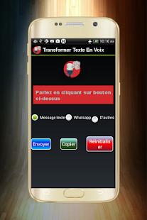 Transformer Voix En Texte -Parole en texte- - náhled