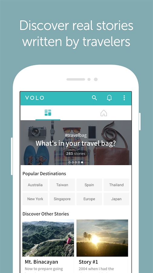 VOLO - Your Travel Journal- screenshot