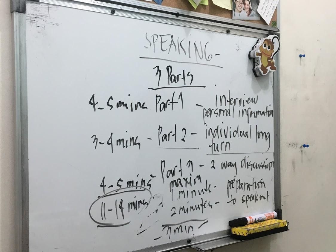 碧瑤語言學校JIC雅思上課心得1