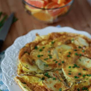 Parmesan Potato Frittata.