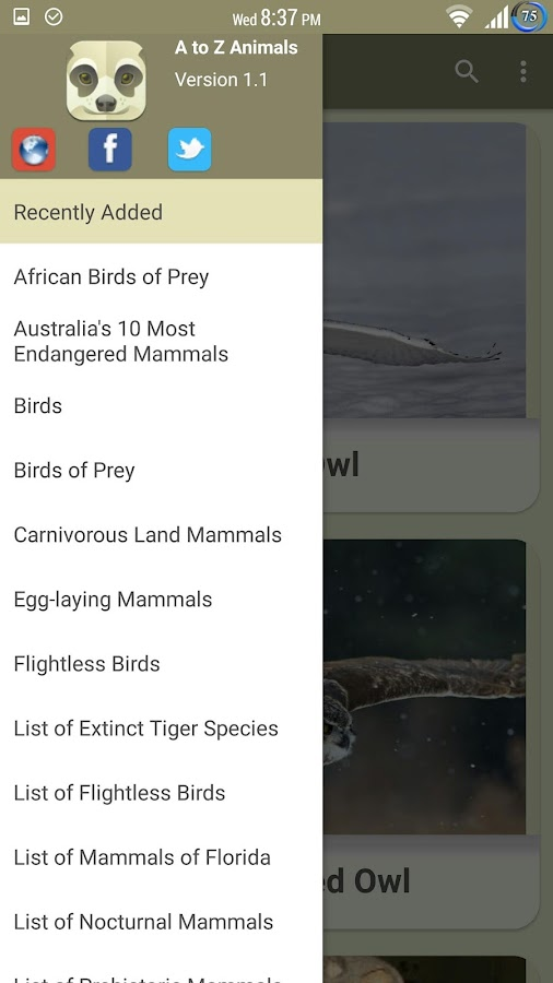 A to Z Animals - 1000+ Animals- screenshot