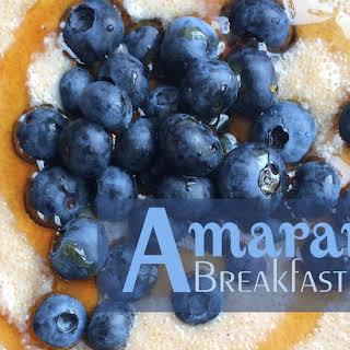 Amaranth Breakfast Recipes.