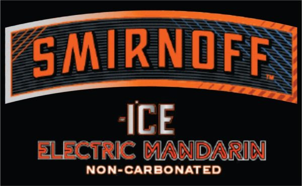 Logo of Smirnoff Ice Electric Mandarin