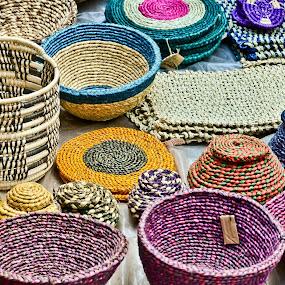 Zulu baskets by Bill Frank - Artistic Objects Other Objects