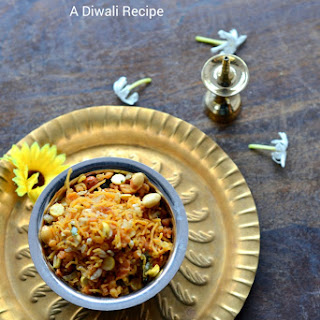 Spicy mixture ~ South Indian Trail mix | Diwali