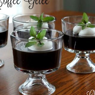 Coffee Gelee`
