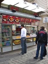 Photo: Euro Food?  Is it Made of Money?  (Wenceslas Sqaure, Prague)