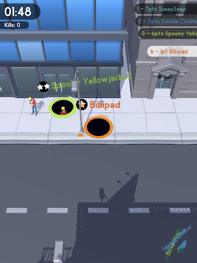 Hole.io screenshot 6