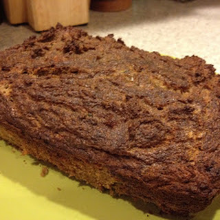 Paleo Zucchini Bread with Ginger and Golden Raisins.