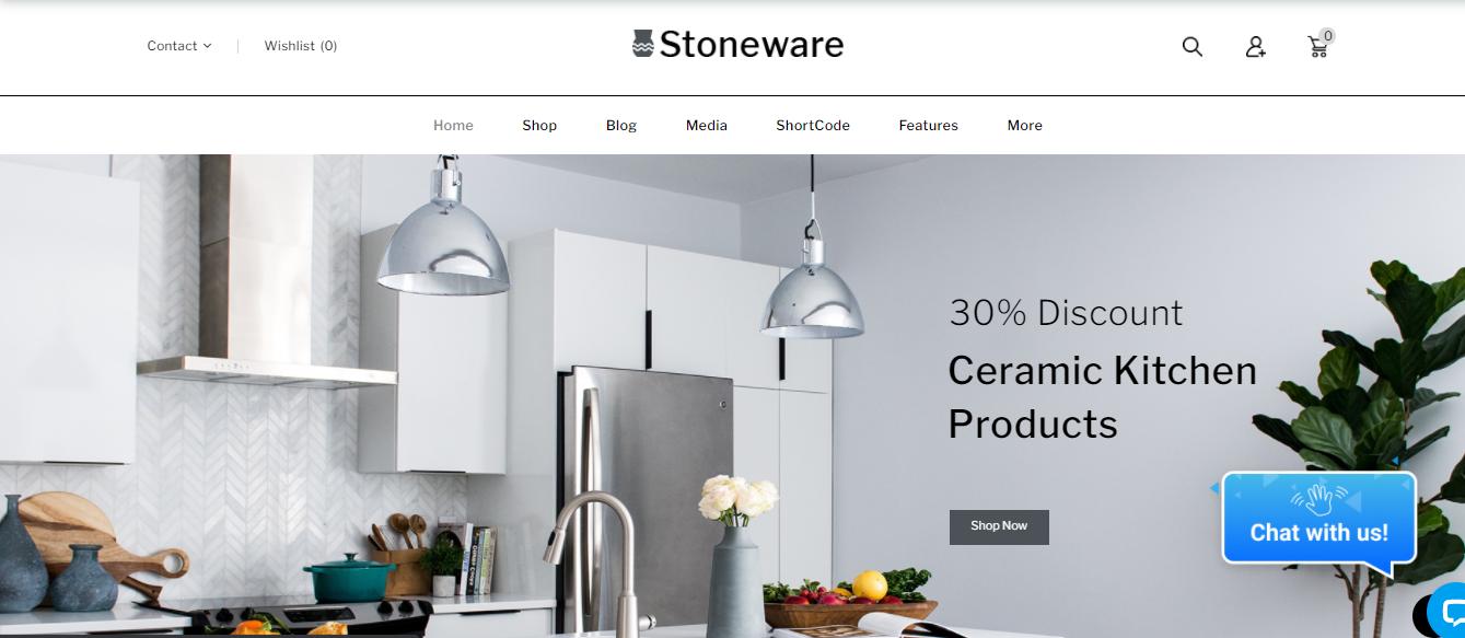 Stoneware - handmade woocommerce theme