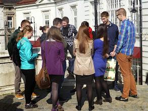 Photo: Eine Jugendgruppe aus Warschau war beim Gottesdiesnt zu Gast