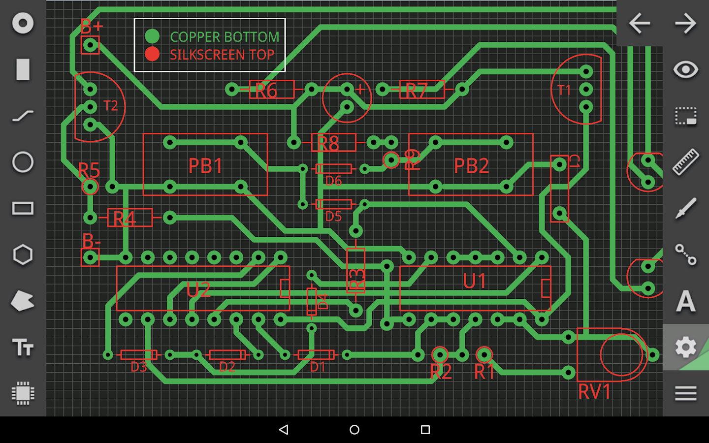 PCB Droid- screenshot