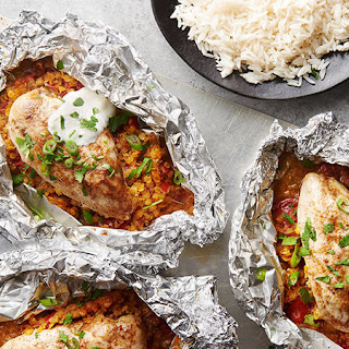 Indian Chicken Foil Packs Recipe