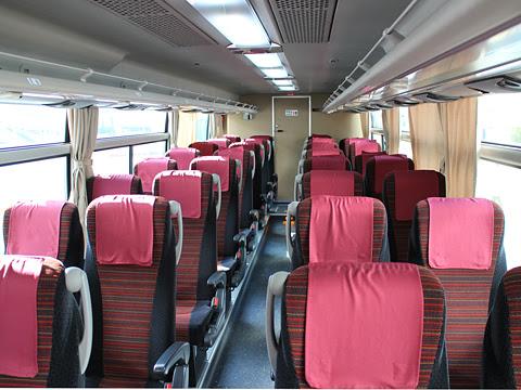 広島電鉄「グランドアロー」普通便 29696 車内
