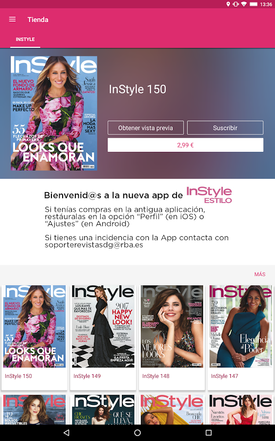 InStyle Estilo- screenshot