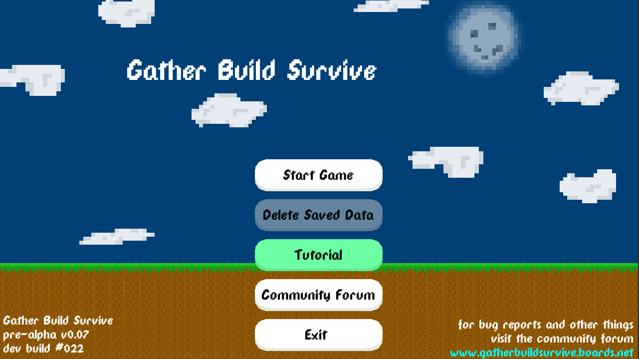 Gather Build Survive (Unreleased)- screenshot