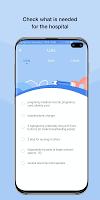 screenshot of HiMommy - Pregnancy Tracker App