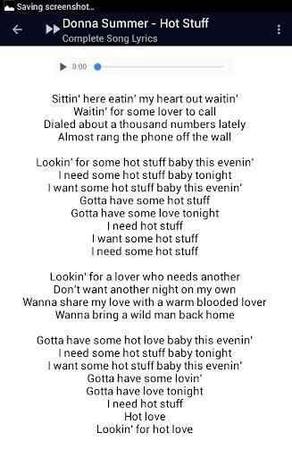 Download Donna Summer Last Dance Lyrics Google Play softwares