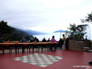 Photo: Outdoor dining, Nepenthe, Big Sur
