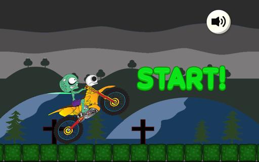 Biker Zombie