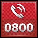 0800 Free Minutes icon