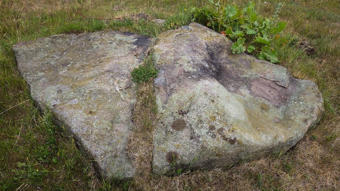 Камінь-слідовик поблизу с.Більчаки