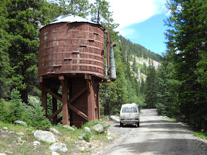 Photo: Heading up to Alpine Tunnel