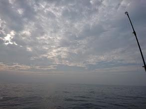 Photo: 今日もナギ水面! ガンバりましょ!