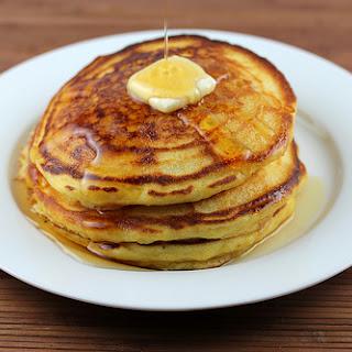 Cornmeal Buttermilk Pancakes