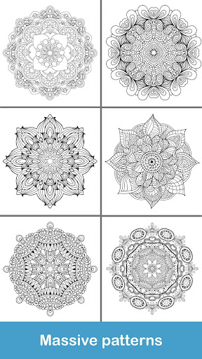 100+ Mandala coloring pages  screenshots 5