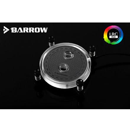 Barrow CPU-vannblokk, Rays Edition, RGB, nickel/plexi, Intel X99/X299